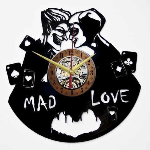 Харли Квинн и Джокер Часы из Пластинки — Mad love