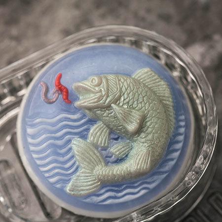 Пластиковая форма для изготовления мыла Рыба
