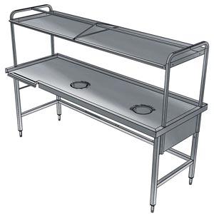 фото 1 Стол для сортировки посуды Electrolux BHST1008R 865334 на profcook.ru