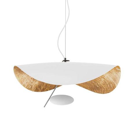 Подвесной светильник Lederam Manta by Catellani & Smith (белый)