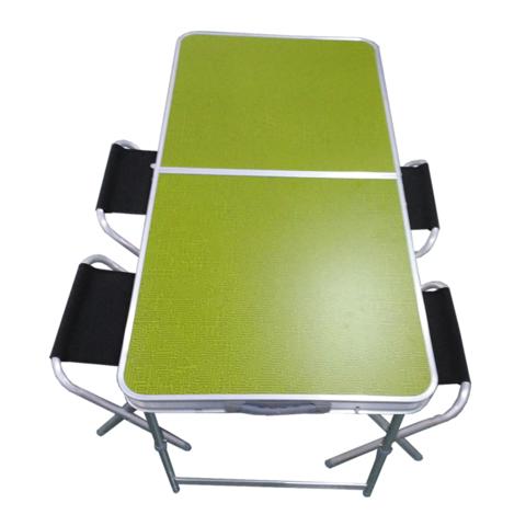 Tramp мебель набор в кейсе TRF-035 (зеленый/черный)