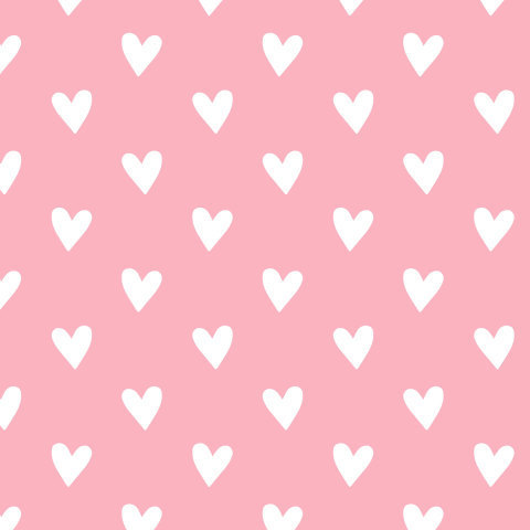 Сердечки на розовом