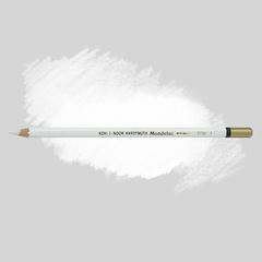 Карандаш художественный акварельный MONDELUZ, цвет 01 титановый белый
