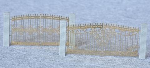 СвеТТофор 87113 Ажурные металлические ворота (Тип 2), НО