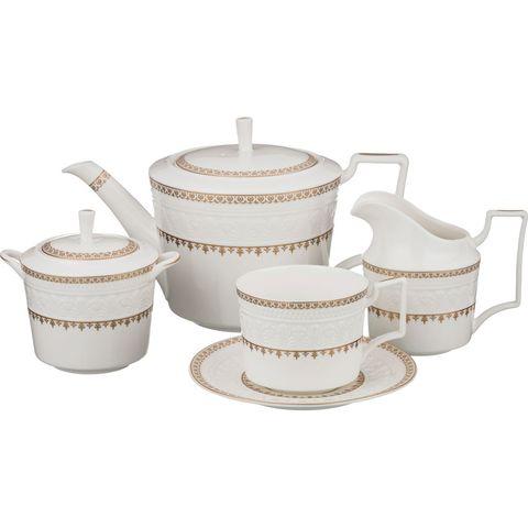 Чайный сервиз на 6 персон из фарфора 760-458
