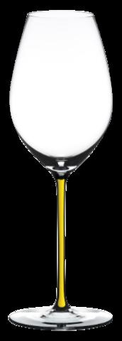 Riedel Fatto a Mano - Фужер Champagne Wine Glass 445 мл хрустальное стекло с желтой ножкой (stemglass) картон