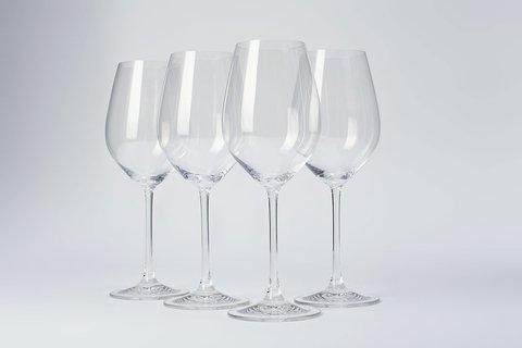 Набор из 4-х бокалов для вина  550 мл, артикул 96070. Серия Red&White