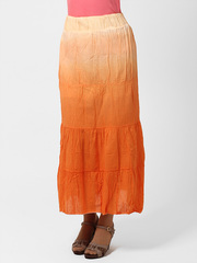 1140-2 юбка оранжевая