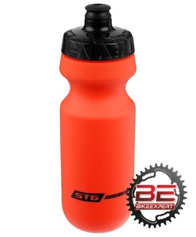 Фляга для воды STG 600мл без крышки красная