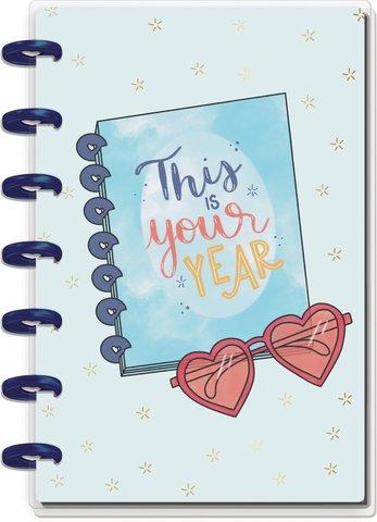 Ежедневник июль 2020 по июнь 2021 Mini Happy Planner® -13х18 см - Real Life