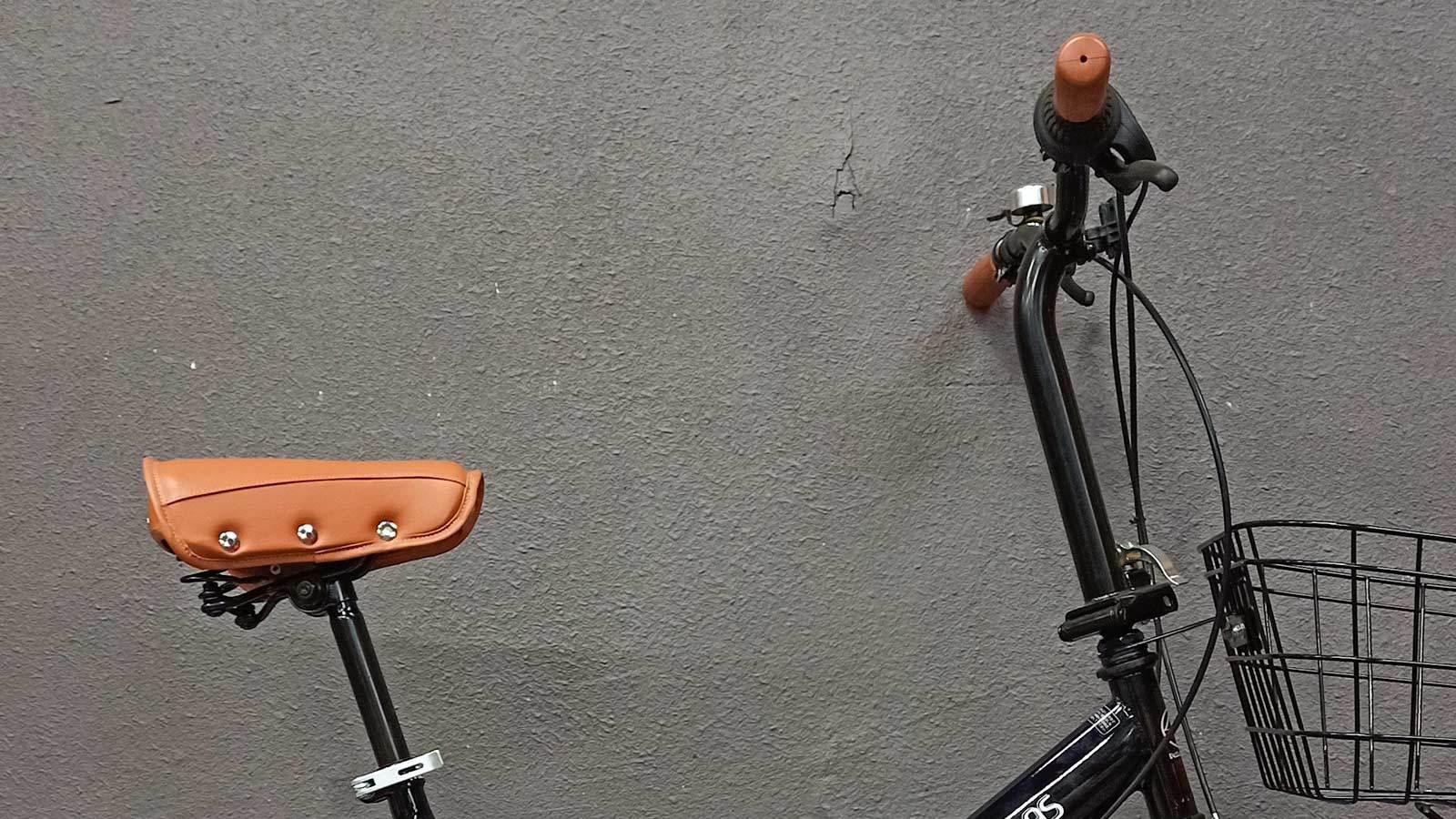 седло и руль складного велосипеда MyPallas M204