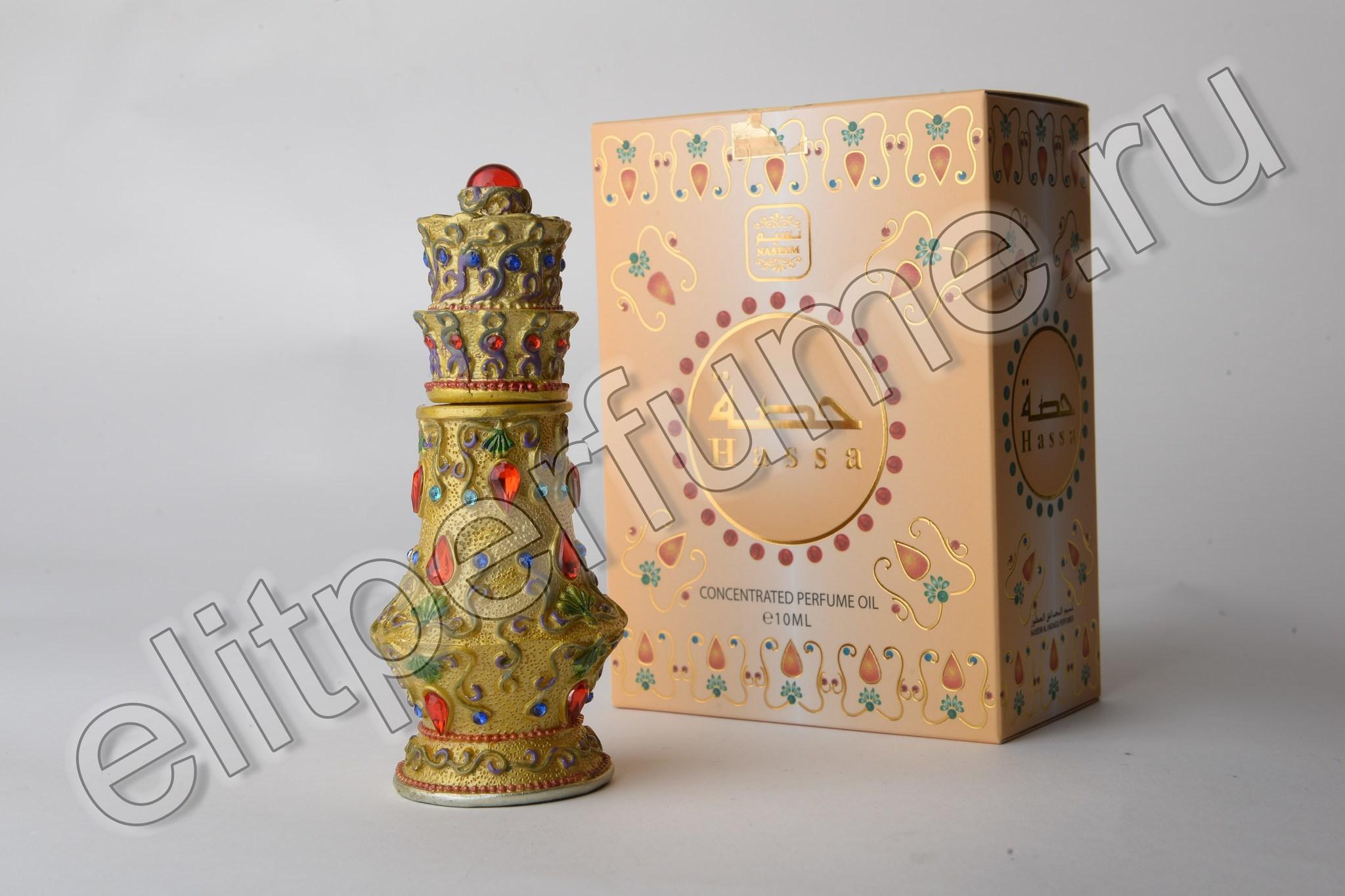 Пробник для Hassa Хасса 1 мл арабские масляные духи от Насим Naseem Perfumes