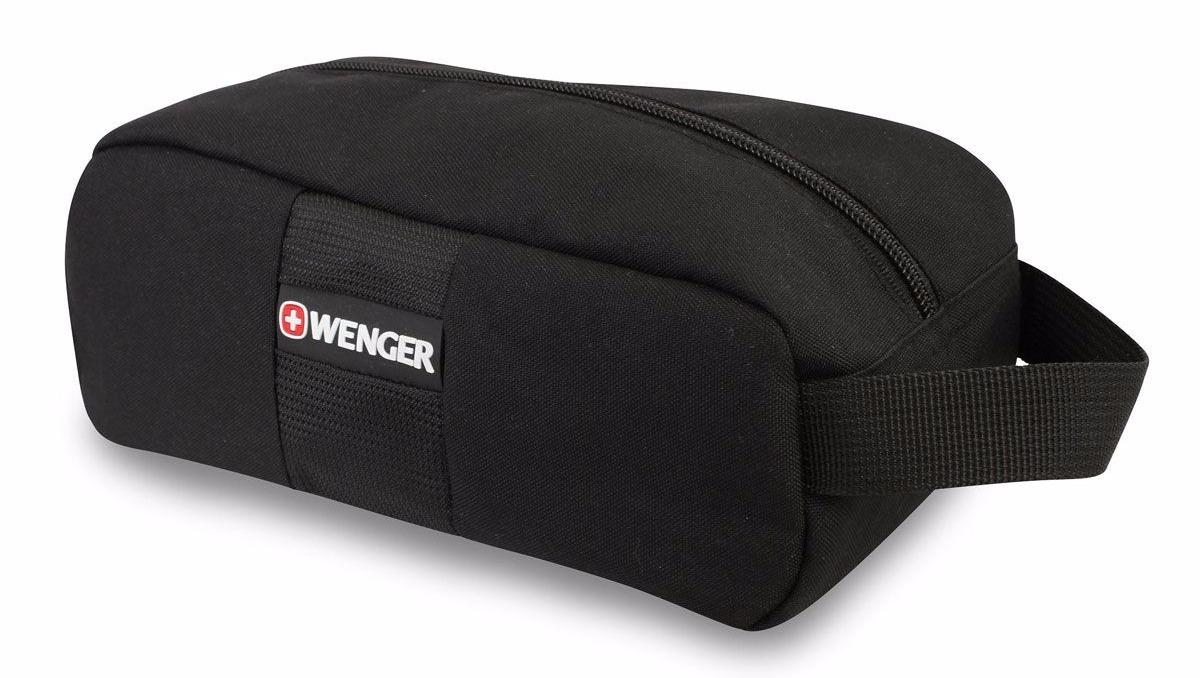 Несессер WENGER, 24x11x10 см., цвет чёрный (6085012)