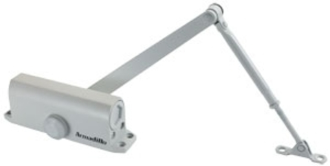 Доводчик дверной Armadillo (Армадилло) морозостойкий LY2 65 кг (белый)