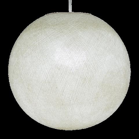 Хлопковый шар - подвес Кремовый