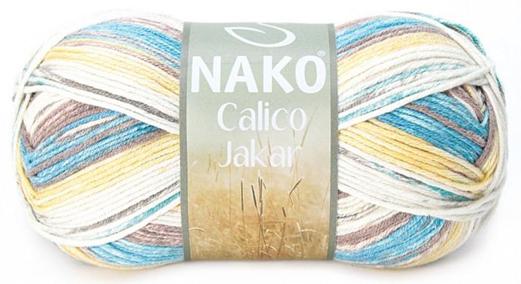 Пряжа Nako Calico Jakar арт. 31540