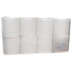 Бумага туалетная Luscan Economy 2-слойная 8 рулонов по 17.5 метров