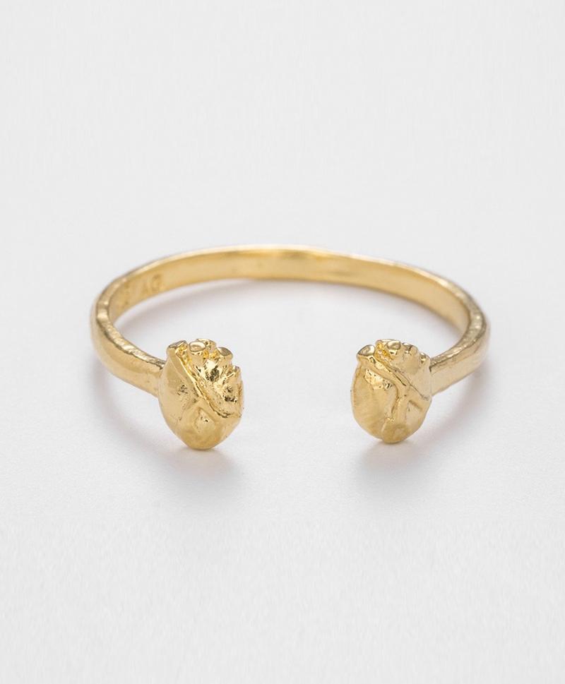 Кольцо-TWO-HEARTS-RING-gold