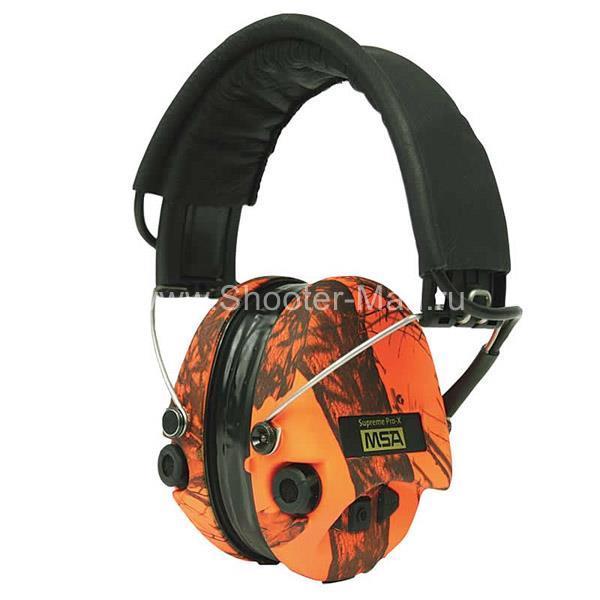 MSA Sordin Supreme Pro X LED оранжевые