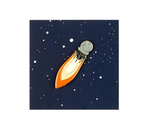 Значок металлический Космос'61: Спутник 55