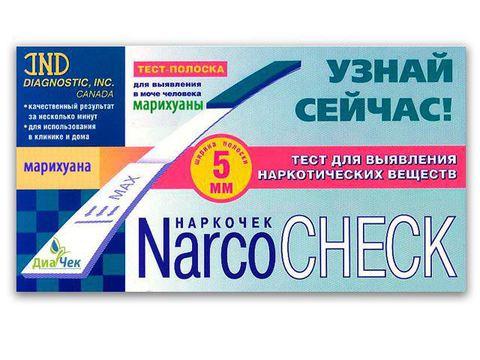 Тест-полоска NARCOCHEСK  марихуана  выявления в моче