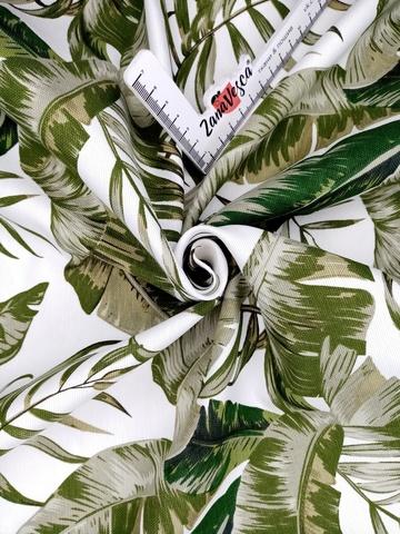 Ткань duck с тефлоновой пропиткой Тропическая зелень УЦЕНКА