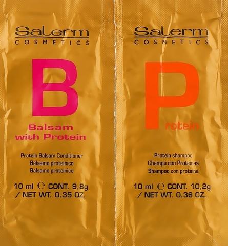 Протеиновая линия (шампунь и бальзам) - Protein Line Salerm