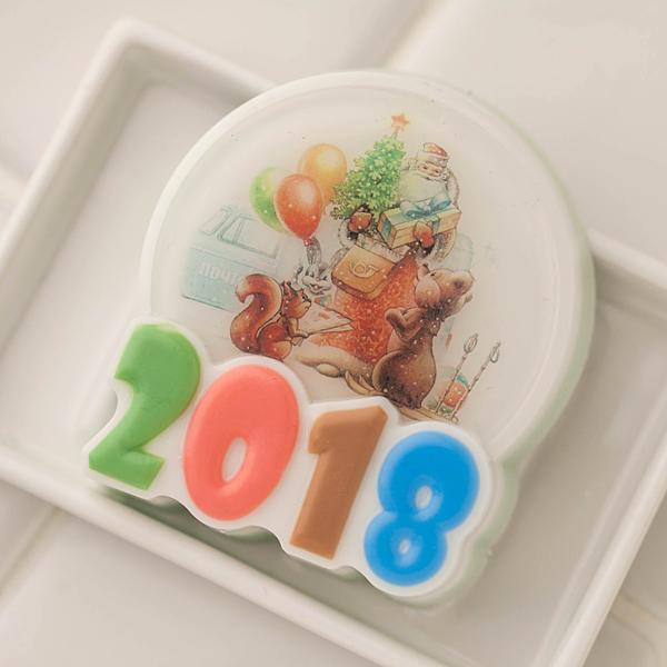 Мыло своими руками. Водорастворимая бумага Новогодние открытки