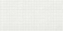 Мозаика «Белая с серым швом»