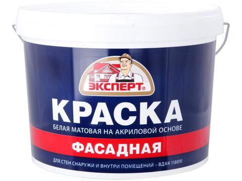 Краска ЭКСПЕРТ фасадная ВДАК-1180 (14кг)