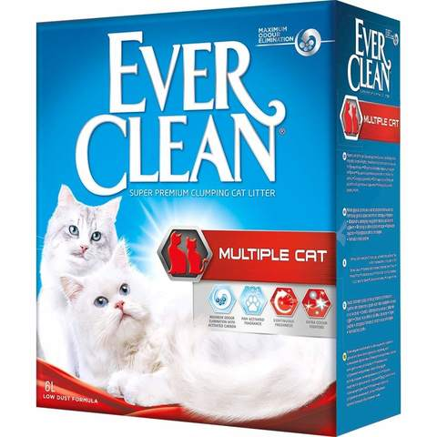 Купить Ever Clean Multiple Cat