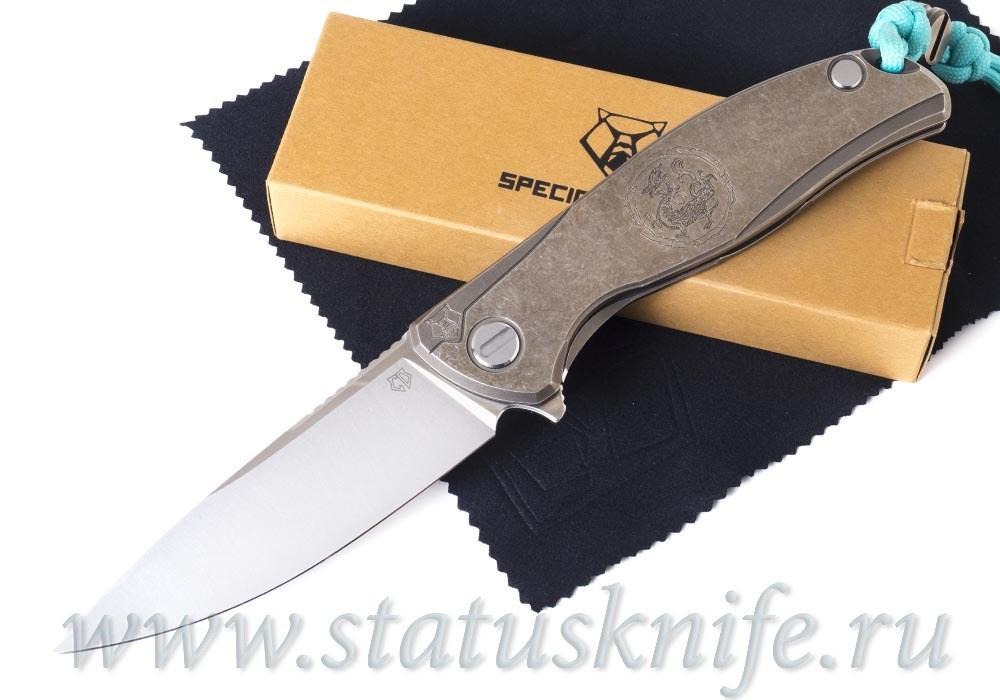 Нож Широгоров F95 Лазурный Дракон Azure Dragon Custom Division