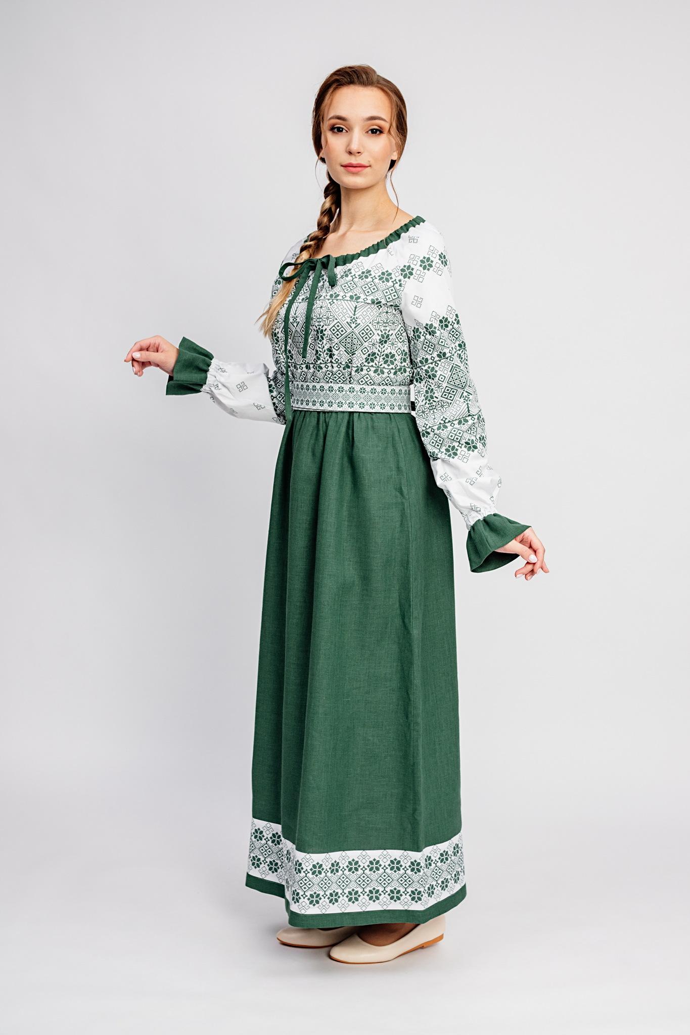 Русское народное свадебное платье