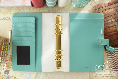 Планер PLANNER KIT A5: Light Teal by Websters Pages (коллекция 2016!)