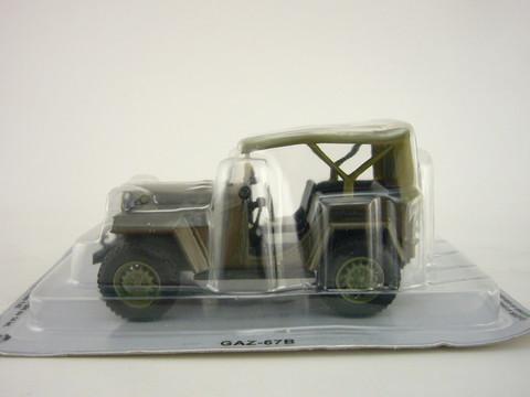 GAZ-67B green 1:43 DeAgostini Kultowe Auta PRL-u #44