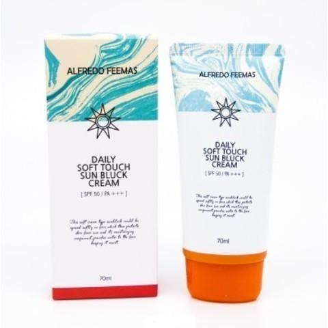 Alfredo Feemas Daily Soft Touch Sun Bluck Cream солнцезащитный кремдля любого типа кожи SPF 50/PA+++