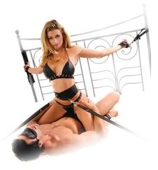 Набор для бондажа Bondage Belt Restraint System