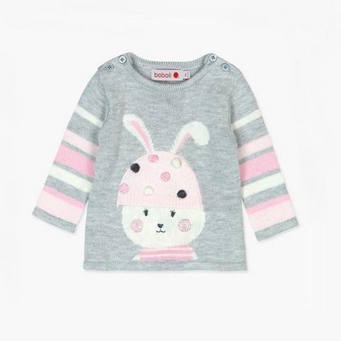 Платье Boboli детское Модный зайчик