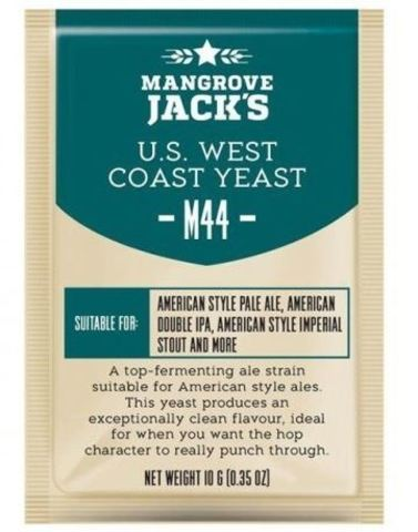 Пивные дрожжи Mangrove Jack's CS yeast M44 us west coast