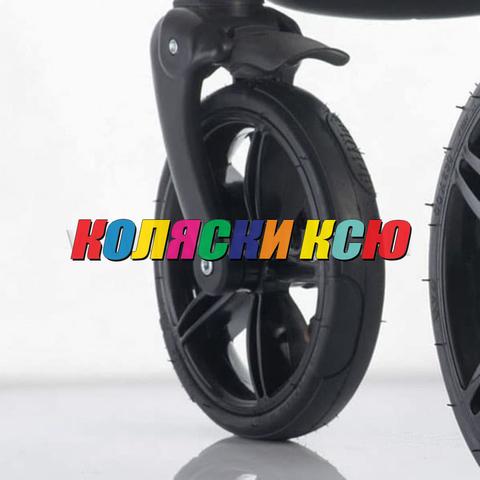Колесо для детской коляски №006007 надув 10дюймов без вилки низкопрофильное
