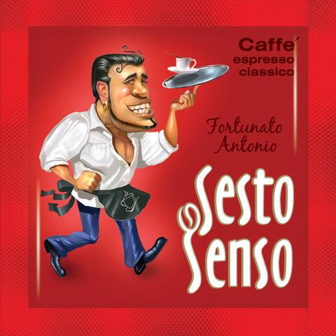 Sesto Senso Кофе в чалде Fortunato Antonio (Сэсто Сэнсо эспрессо классико)