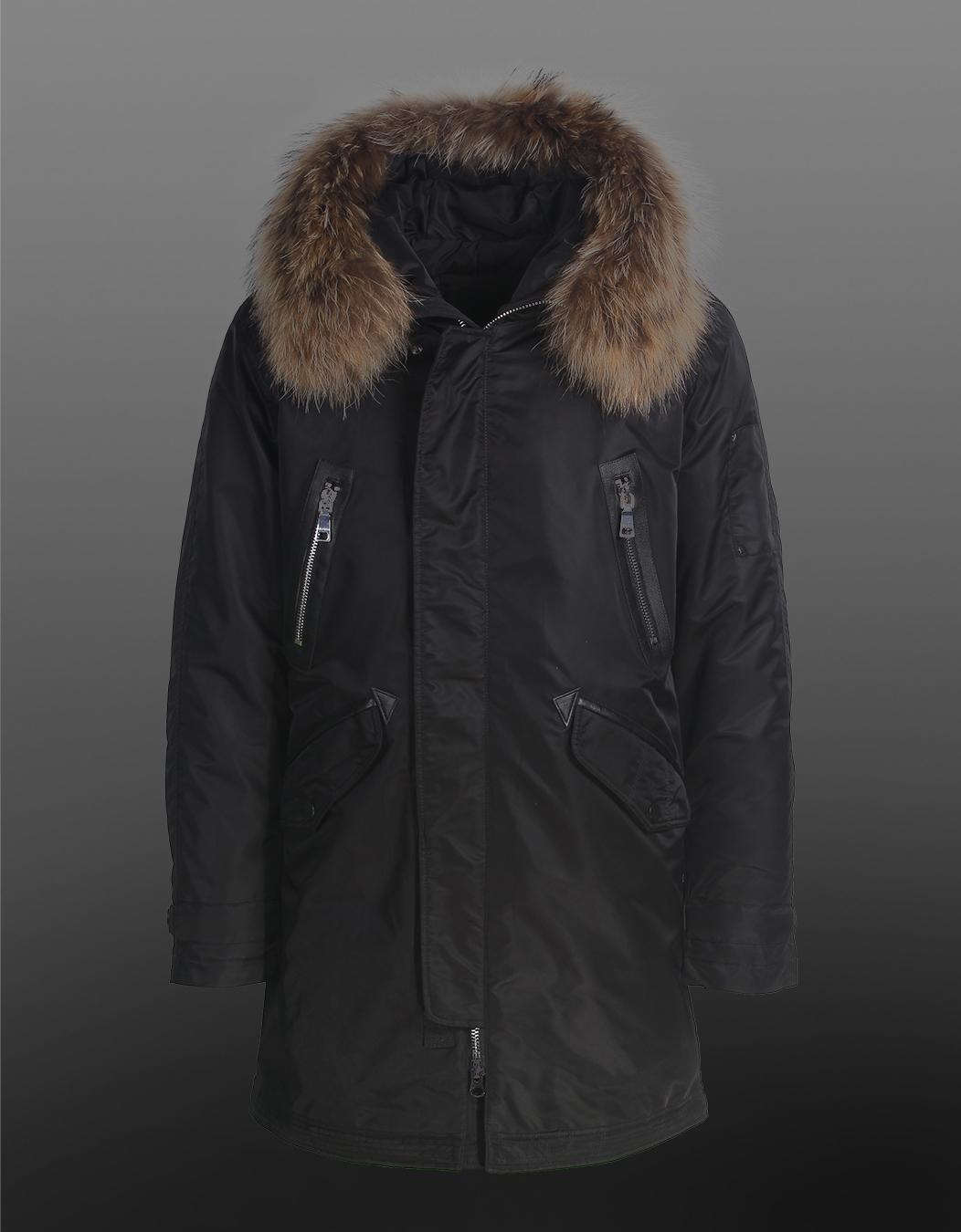 Куртка зимняя CLASNA 102 (черная)