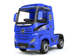 Электромобиль BARTY Mercedes-Benz Actros HL358 синий