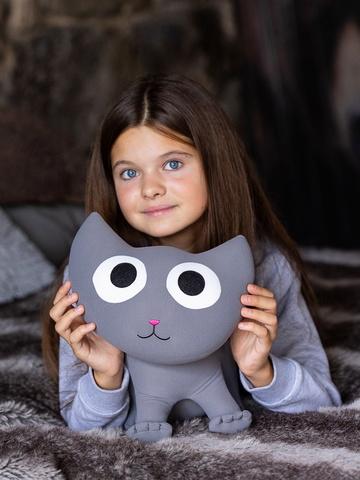 Мягкая игрушка-подушка Gekoko «Котенок Смоки» 3
