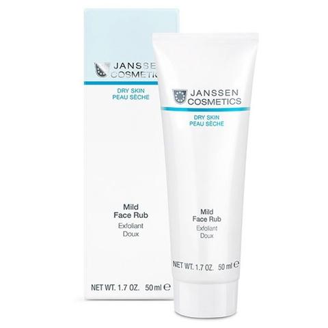Janssen Dry (DEGYDRATED) Skin: Мягкий скраб с гранулами жожоба (Mild Face Rub)