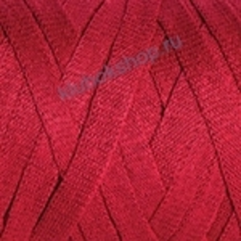 Ленточная пряжа YarnArt Ribbon цвет 773 ярко-красный