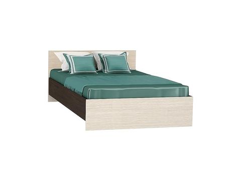 Кровать полуторная Бася КР-556 120х200 Браво Мебель венге, дуб белфорд