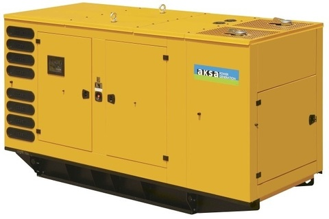 Дизельный генератор Aksa AP 275 в кожухе