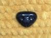 Носик винтовой треугольный для игрушки 20 х 17 мм, черный, пластиковый с заглушкой