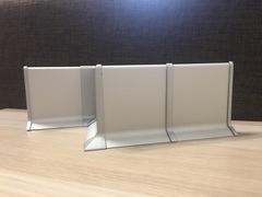 Фурнитура для плинтусов 40-60-80-100 из Алюминия - угол внутренний